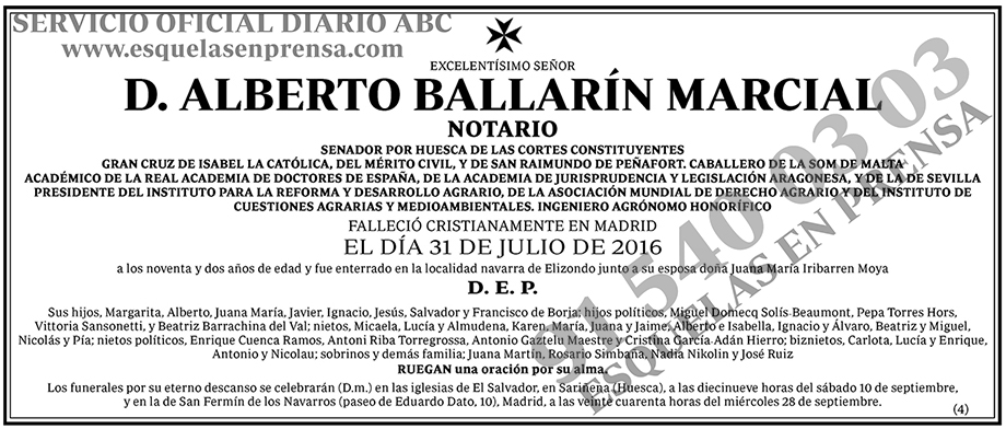 Álberto Ballarín Marcial